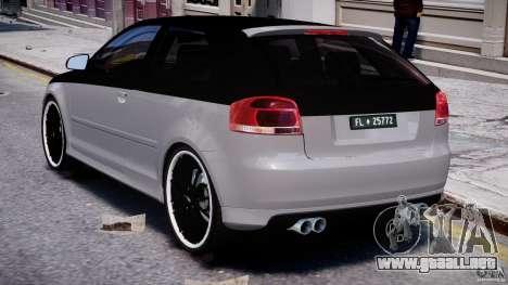 Audi S3 para GTA 4 visión correcta
