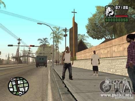 Dormir para GTA San Andreas sucesivamente de pantalla