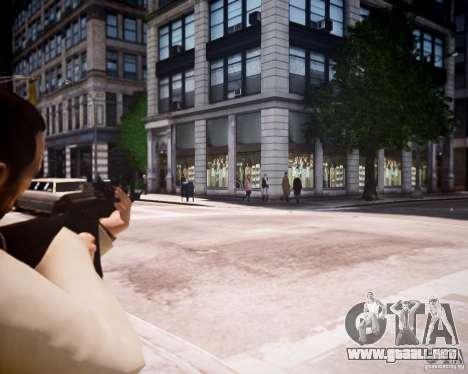 AKM 74 para GTA 4 adelante de pantalla