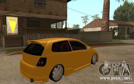 Honda Civic Type-R EP3 para la visión correcta GTA San Andreas
