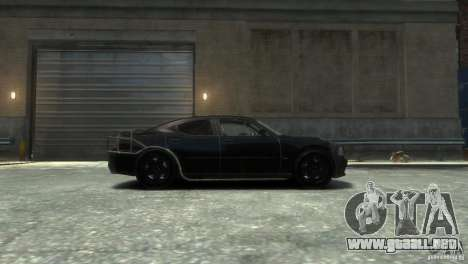 Dodge Charger Fast Five para GTA 4 left