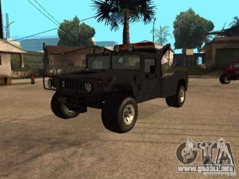 Camioneta HUMMER H1 para GTA San Andreas