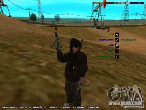 Traficante de drogas para GTA San Andreas segunda pantalla