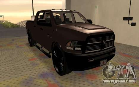 Dodge Ram 3500 para la visión correcta GTA San Andreas