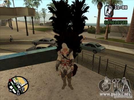 Ezio auditore de Firenze para GTA San Andreas sucesivamente de pantalla
