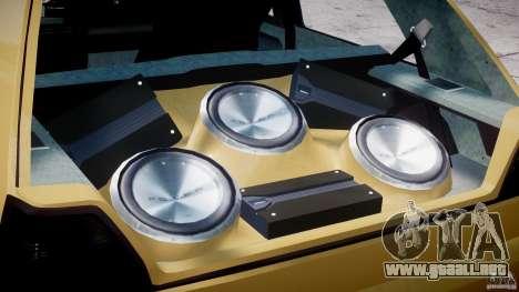 Volkswagen Golf MK2 Tuning para GTA 4 vista lateral