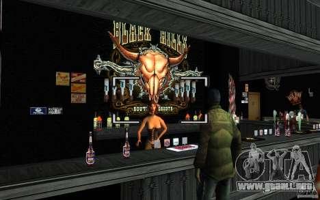 New Bar para GTA San Andreas sucesivamente de pantalla