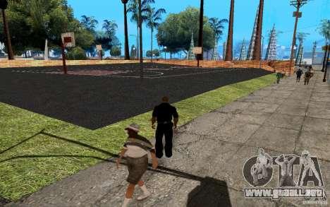 La nueva cancha de baloncesto para GTA San Andreas quinta pantalla