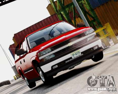 Chevrolet Suburban 2006 V1.1 CIVIL para GTA 4 left