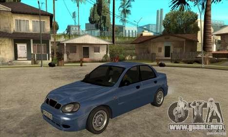Daewoo Lanos v2 para GTA San Andreas