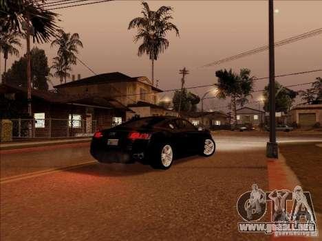 ENBSeries para GTA San Andreas segunda pantalla
