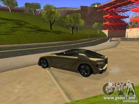 Bertone Mantide para la visión correcta GTA San Andreas