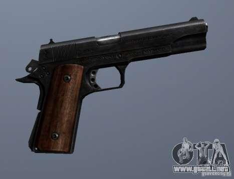 M1911 para GTA San Andreas sucesivamente de pantalla