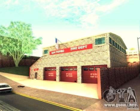 Una nueva estación de bomberos en San Fierro para GTA San Andreas