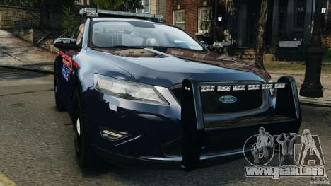 Ford Taurus 2010 Atlanta Police [ELS] para GTA 4