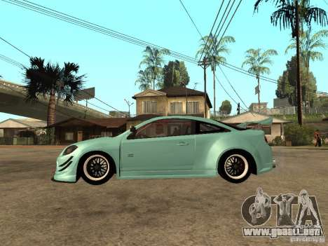 Chevrolet Cobalt SS NFS Shift Tuning para GTA San Andreas left