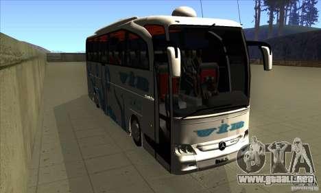 Mercedes-Benz Travego 15 SHD para GTA San Andreas vista hacia atrás