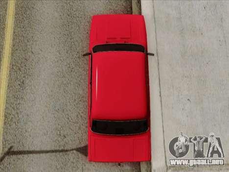 VAZ 21054 para vista lateral GTA San Andreas