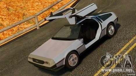 DeLorean DMC-12 1982 para GTA 4 vista lateral