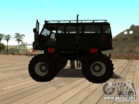 Uaz Monster para GTA San Andreas left