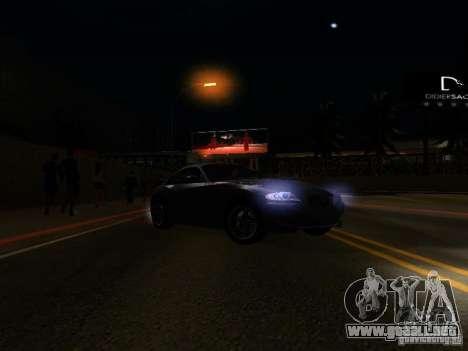 BMW Z4 M 07 para la vista superior GTA San Andreas