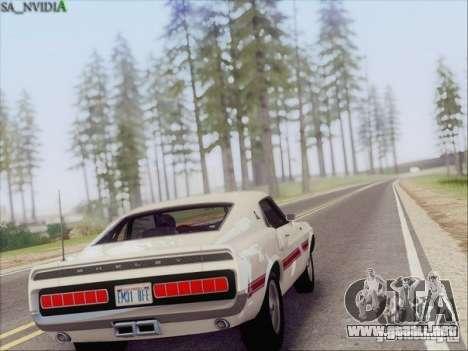SA_Nvidia Beta para GTA San Andreas quinta pantalla