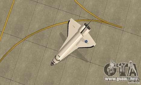 Space Shuttle Discovery para la visión correcta GTA San Andreas