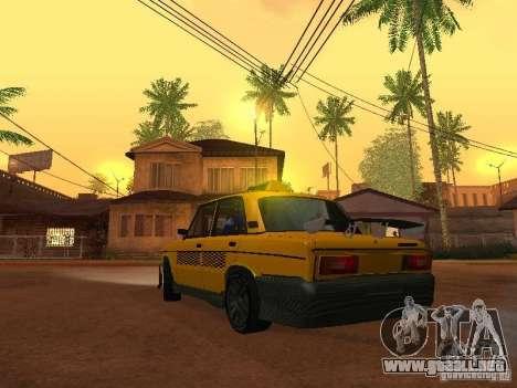 2106 VAZ tuning Taxi para GTA San Andreas left