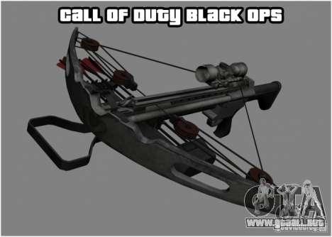 Ballesta de Black Ops para GTA San Andreas