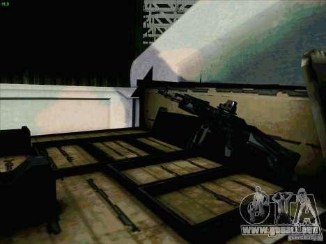Hummer H1 para vista lateral GTA San Andreas