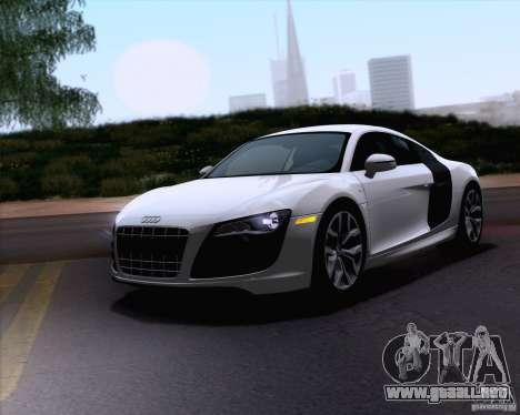 Audi R8 v10 2010 para GTA San Andreas
