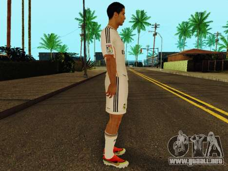 Cristiano Ronaldo v1 para GTA San Andreas segunda pantalla