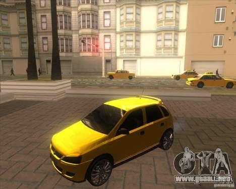 Opel Corsa C 2004 Deutsch style para GTA San Andreas