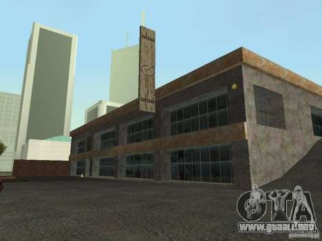 IMW Old Zastava Car Showroom para GTA San Andreas