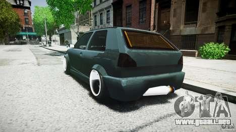 Volkswagen Golf 2 Low is a Life Style para GTA 4 vista hacia atrás