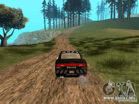 Dodge Charger Canadian Victoria Police 2011 para visión interna GTA San Andreas