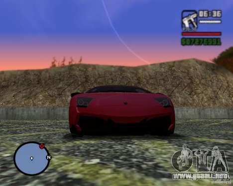 Enb series by LeRxaR para GTA San Andreas tercera pantalla