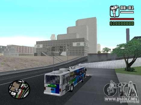 Cobrasma Monobloco Patrol II Trolerbus para la visión correcta GTA San Andreas