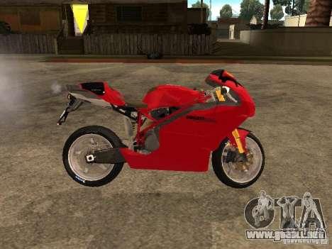 Ducati 999s para GTA San Andreas left