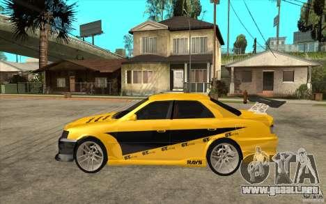 Toyota Chaser Tourer V para GTA San Andreas left