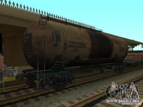 Tanque nº 68T 53911384 para GTA San Andreas left