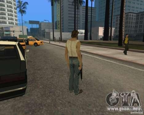 Piel Wolwerine para GTA San Andreas tercera pantalla