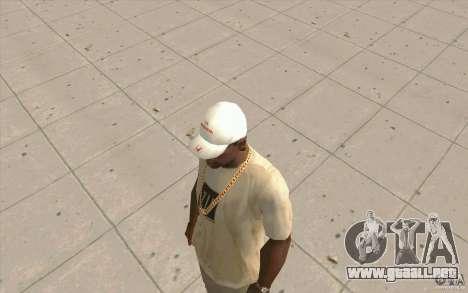 Gorra honda para GTA San Andreas