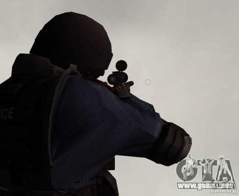 Rifle de GTA IV para GTA San Andreas tercera pantalla
