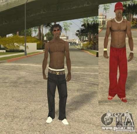Afro-American Boy para GTA San Andreas