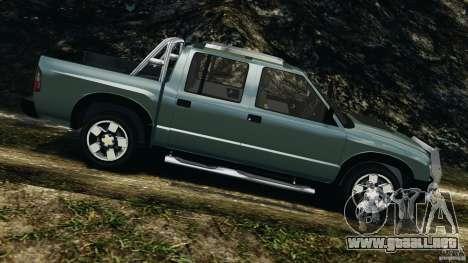 Chevrolet S-10 Colinas Cabine Dupla para GTA 4 left