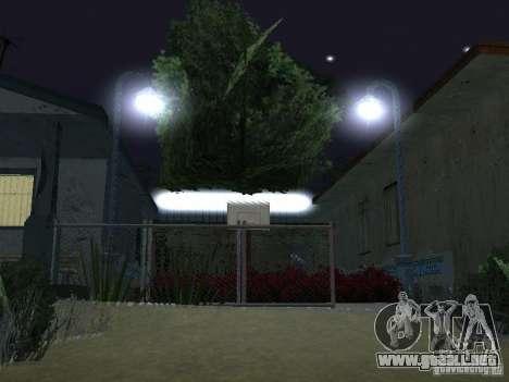 La nueva calle Grove para GTA San Andreas octavo de pantalla