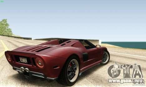 Ford GTX1 Roadster V1.0 para GTA San Andreas left