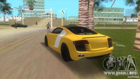 Audi R8 V10 TT Black Revel para GTA Vice City left