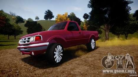 Ford Ranger para GTA 4 ruedas